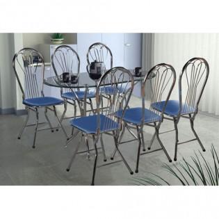 Bộ bàn ghế ăn cao cấp B47, G18