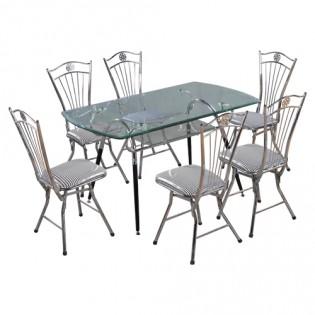 Bộ bàn ghế ăn Hòa Phát B48, G27