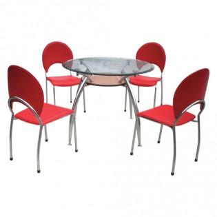 Bộ bàn ghế ăn cao cấp B53, G53