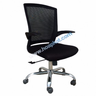 Ghế lưới nhân viên GL114 ( Chân mạ )