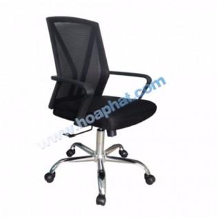 Ghế lưới lãnh đạo GL209 ( nhựa đen )