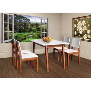 Bộ bàn ăn 4 ghế HGB63A, HGG63