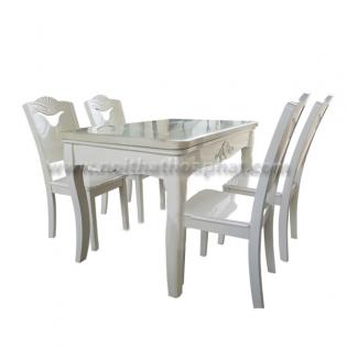 Bộ bàn ghế ăn cao cấp BA129,GA129
