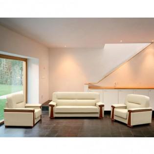 Bộ sofa bọc da cấp SF34