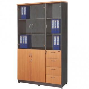 Tủ gỗ NT1960-3G/4D